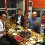 ужин по корейски